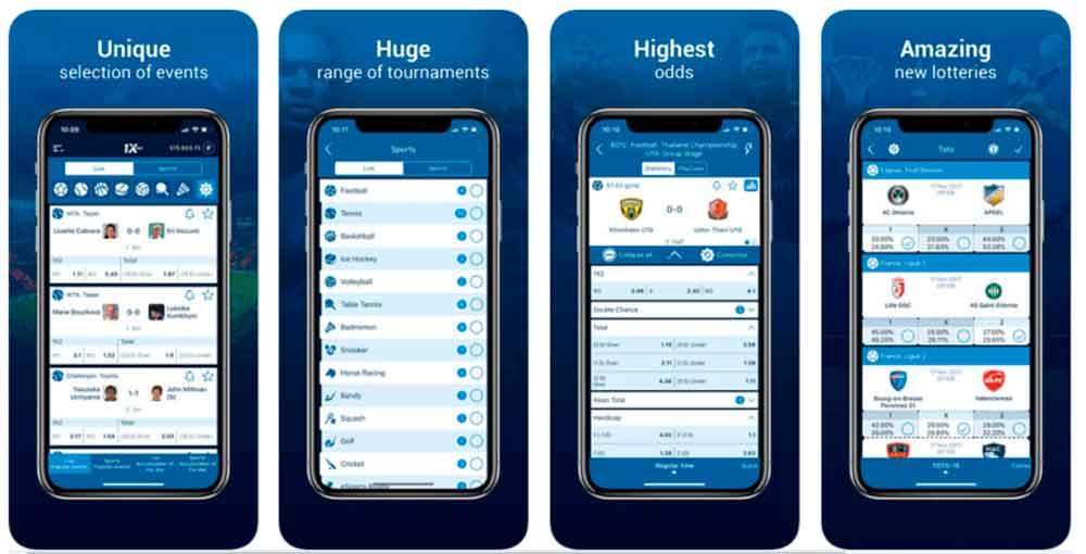 Download of 1xBet App